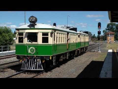 Tin Hares to Parkes and Narromine - ARE/TRMS Cobar Tour: Australian Trains