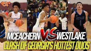 CLASH of GEORGIA'S HOTTEST DUOS!!!! | McEachern vs Westlake