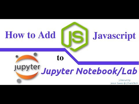How to Add R Kernel and Javascripts(Node Js) to Jupyter