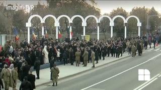 Ceremonia militara de la Alba Iulia, de Ziua Nationala a Romaniei - 1 Decembrie 2018