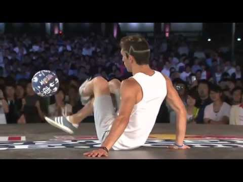 Red Bull Street Style World Final 2013 Tokyo - Semifinal: Charly (Argentina) Vs Andrew ( UK )