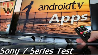 Android Test - Sony XF7596 Smart TV