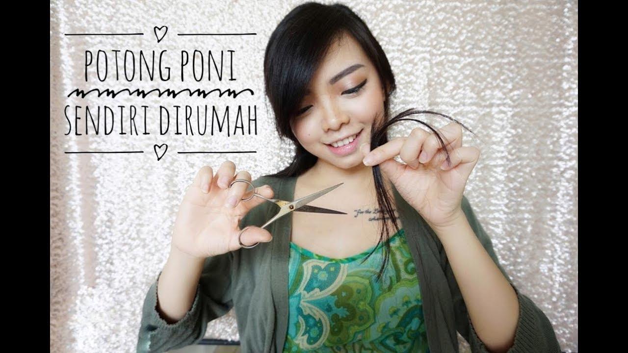 POTONG PONI MIRING SENDIRI DIRUMAH - GAMPANG BANGET! - YouTube 1c4f23cb2c