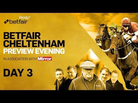 Cheltenham Festival - Day 3 Preview