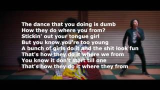 Lyrics Missy Elliott - WTF (Where They From) ft. Pharrell Williams