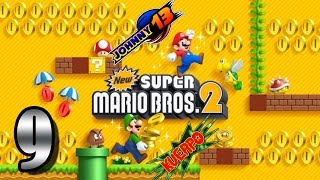 New Super Mario Bros 2 GAMEPLAY - Parte 9 - Lakitu nos devuelve las monedas