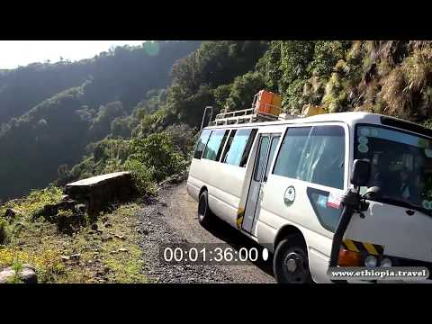 Ethiopia  - Simiens Landscapes lower valley (Part 1)