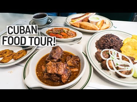 The Best Cuban Food IN THE WORLD! Featuring David's Been Here Miami, Florida
