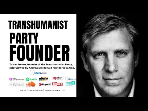 Zoltan Istvan US Presidential Candidate and Founder of The Transhumanist Party
