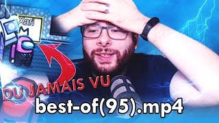 BEST-OF XARI #95 : LE PIRE JOUEUR D'AMONG US (CERTIFIÉ -256 IQ ^^ 😝👀🧠🙈🙈)
