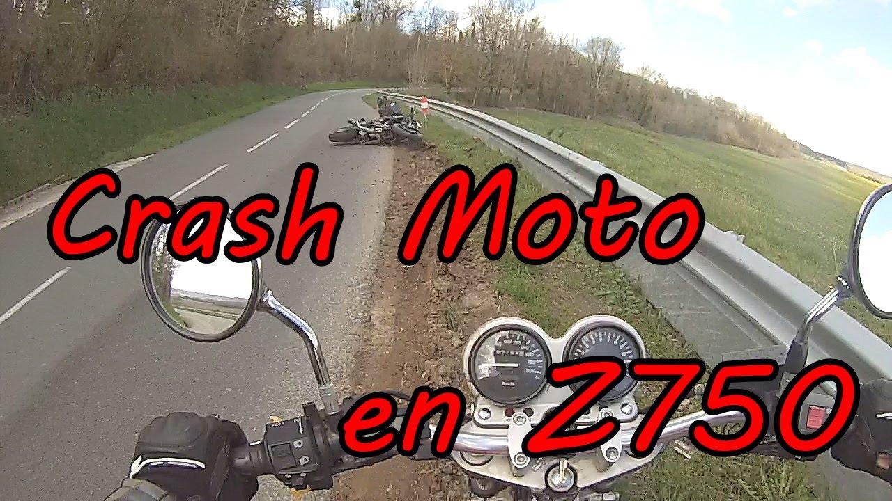 crash moto z750 ride safe youtube. Black Bedroom Furniture Sets. Home Design Ideas