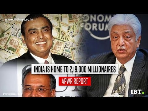 India home to 2,19,000 millionaires, says report