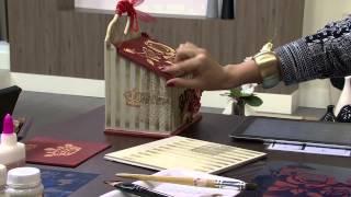 Repeat youtube video 09/09/2013 Mulher.com  Caixa Multiuso (floral em stencil) -  Tânia Islas - (Bloco 1/2)