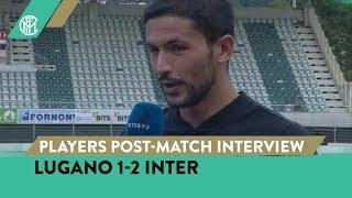 LUGANO 1-2 INTER | STEFANO SENSI AND STEFAN DE VRIJ INTERVIEWS [SUB ENG]