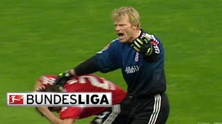 Goalkeeping Titan Oliver Kahn Brings Terror to the Pitch thumbnail