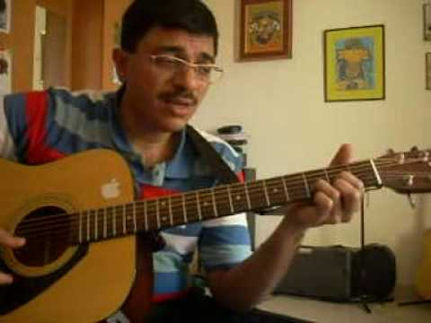 Beginner Guitar Chords And Strum Pattern For Tamil Hindi Song By