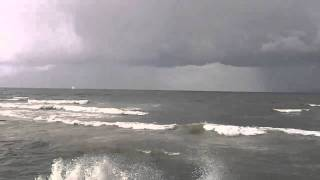 Tel Aviv Storm and Twister in the sea