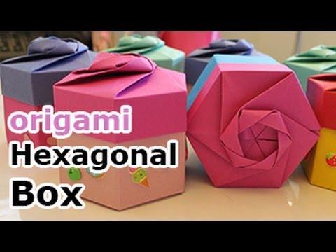 Origami Hexagonal Gift Box (Non Modular)