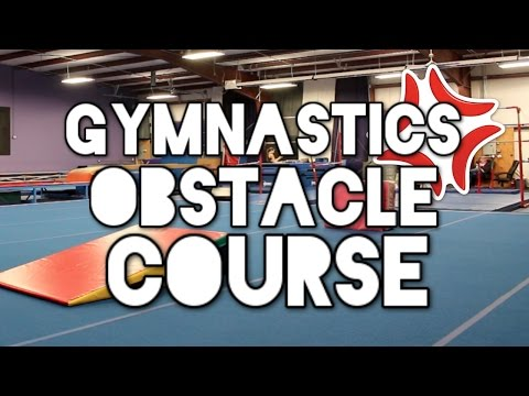 Insane Gymnastics Obstacle Course