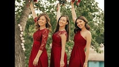 2019 Trendy Burgundy Bridesmaid Dresses Collections