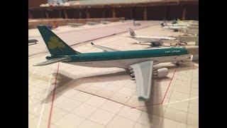 1:400 Geminijets Aer Lingus A330-200 Model Review *RARE MODEL*