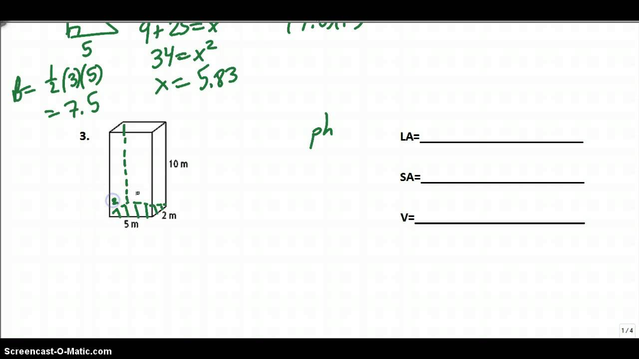 Chapter 6 cumulative review geometry