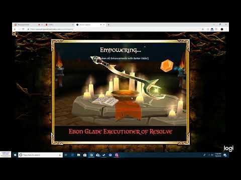 Arcane Legends Awakening Subscribers Ebon Wep
