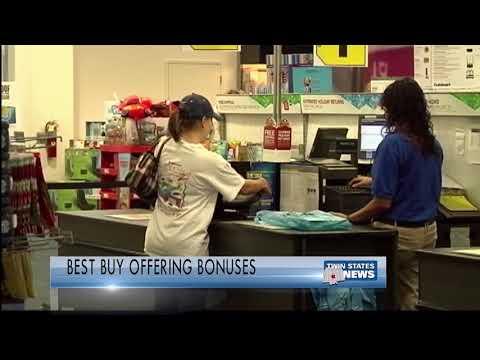 Best Buy Offering Bonuses