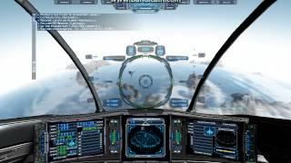 Evochron Mercenary 2.X Earth Landing