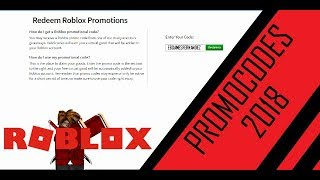 [NEW] BLACK FRIDAY PROMOCODES 2018 | ROBLOX