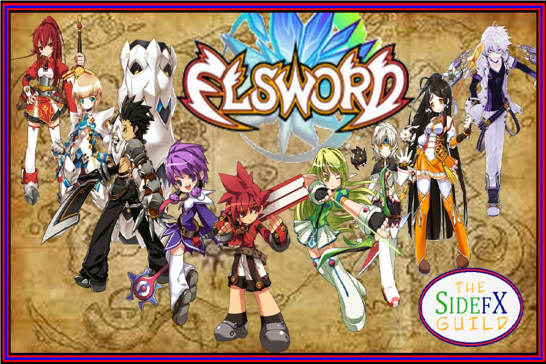 Elsword All Characters And Job Advancements Youtube