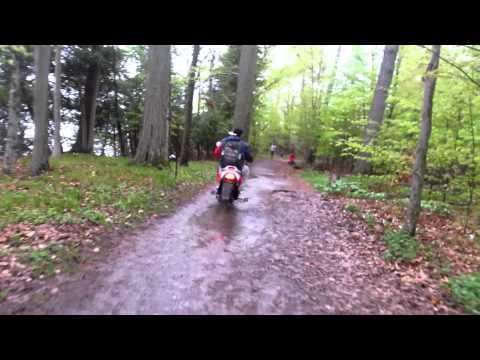 Hot trails lemoins point Kingston Ontario ele