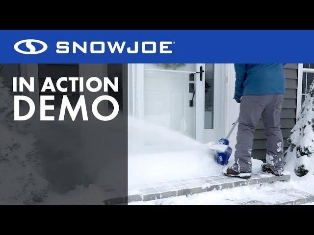 Snow Joe // Cordless Snow Shovel Kit video thumbnail