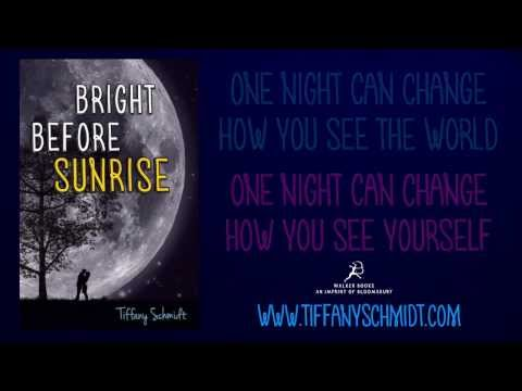 Bright Before Sunrise by Tiffany Schmidt Book Trailer