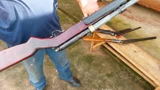 Espingarda caseira calibre 28