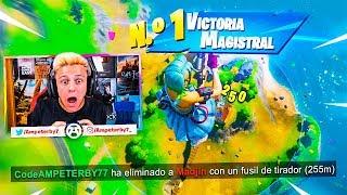 EL TIR0 MÁS ÉPICO DE MI VIDA *ALTURA MÁXIMA* - Fortnite 2