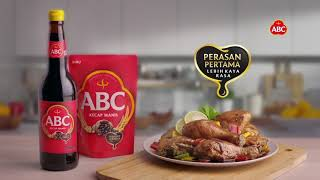 Perasan Pertama Kecap ABC – Untuk Masakan Kaya Rasa