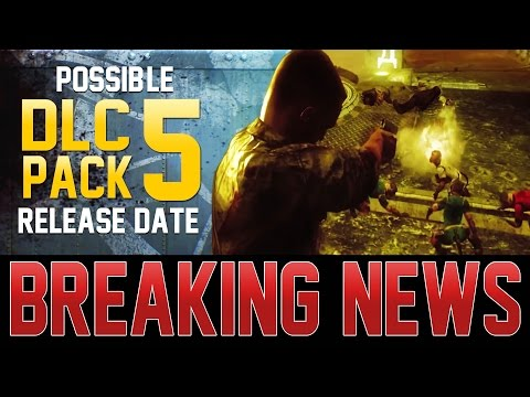 POSSIBLE DLC 5 RELEASE DATE EVIDENCE!  ASCENSION REMASTERED ZOMBIES LEAKED INFO!