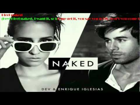 DEV ft. Enrique Iglesias Naked Karaoke