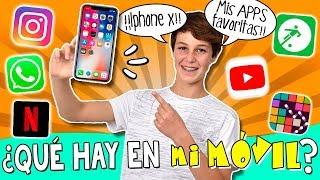 TAG 📲 ¿Qué hay en mi MÓVIL? 😱 APPS y Juegos favoritos de MATEO para su celular IPHONE X 📱