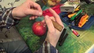 Урок 2  Как правильно и безопасно держать нож для карвинга