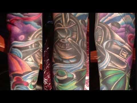 Obie Hughes Gentleman Tattoo Artist now serving Austin Tx