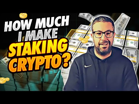 How Much I Make Staking Crypto? Make $5000 Per Month Staking Crypto! ????