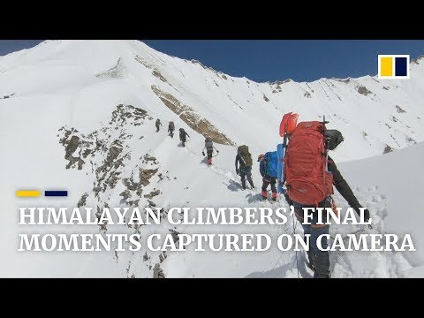 Doomed Himalayan Climbers' Final Moments Captured On Camera