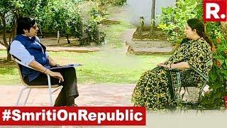 Watch Smriti Irani's First Interview After Beating Rahul Gandhi In Amethi Lok Sabha Election Battle