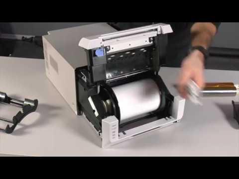 Groovy Drukarka DNP DS-620 zakładanie oraz wymiana folii i papieru - YouTube HD04