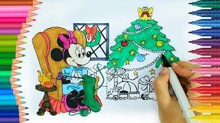 Minnie Mouse   Come disegnare e colorare   Disegni da colorare   Cose da colorare