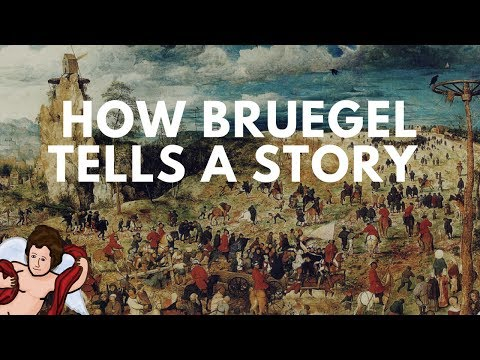 Procession to Calvary: Bruegel Telling Two Tales at Once