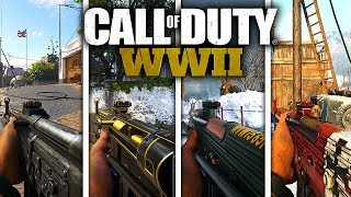 Every STG44 VARIANT In COD: WW2! (ALL HEROIC AND EPIC VARIANTS) #DooMRC