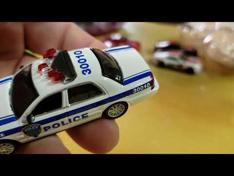 Green light hobby exclusive port authority New York New Jersey Crown  Victoria PAPD 2003